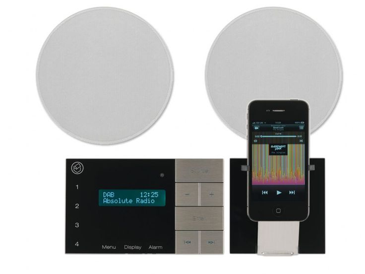 Good Systemline E100 Bluetooth FM / DAB+ Radio System U0026 6.5   Bathroom Sound  System IRA Design