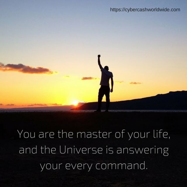 You are the master of your life and the Universe is answering your every command.  #lawofattraction #positivethinking #positivity #internetmarketing #lifestyledesign #makemoneyonline #motivation #makemoneyfromhome #businessopportunity #workfromanywhere #homebasedbusiness #inspiration #onlinebiz #entrepreneurial #entrepreneurslife #happiness #entrepreneurquotes #entrepreneurmotivation #socialmediamarketing #laptoplifestyle #power #motivationalquote #instagood #universe #extraincome…