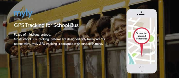 myly: School Bus GPS Tracking System   Know more at http://bit.ly/2fVa8cY   #SchoolApp #SchoolERP #SchoolBusTracking #GPSTracking #SchoolBusTracker