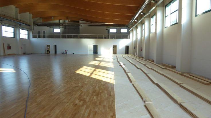 #parquet #sportivi #pavimentazioni #pavimenti #palasport #paruzzaro #novara #piemonte #flooring #sports #floors #sportsflooring  #dallariva #wood #hardwood #playwood