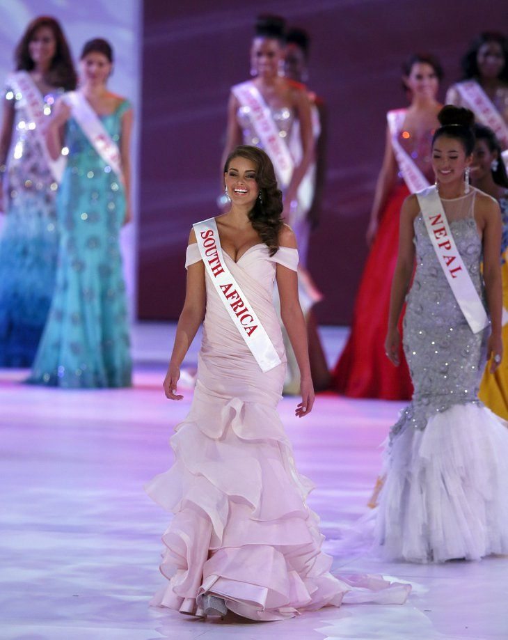 Miss South Africa Rolene Strauss Is Miss World 2014!