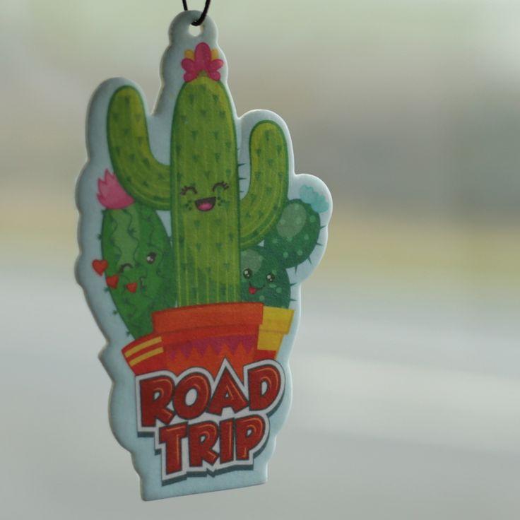 Závěsný osvěžovač vzduchu z kolekce Kaktus #Kaktus #Cactus #airfreshener #giftideas