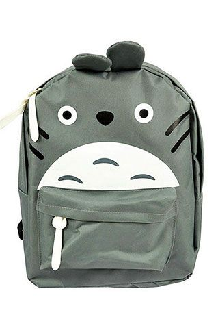 Price:24.9 USD Color:grey/blue Lovely Cute Totoro Backpack