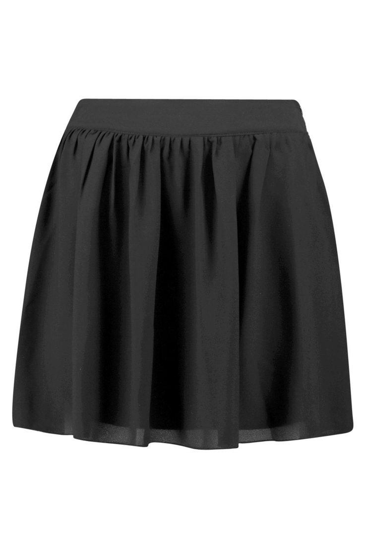 Sari Chiffon Skater Mini Skirt