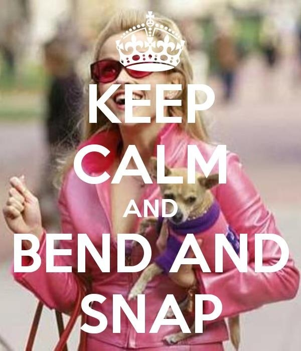 Bend And Snap From Legally Blonde 99