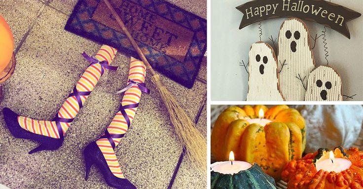 Idee fai da te per allestire casa ad Halloween | Donna Moderna