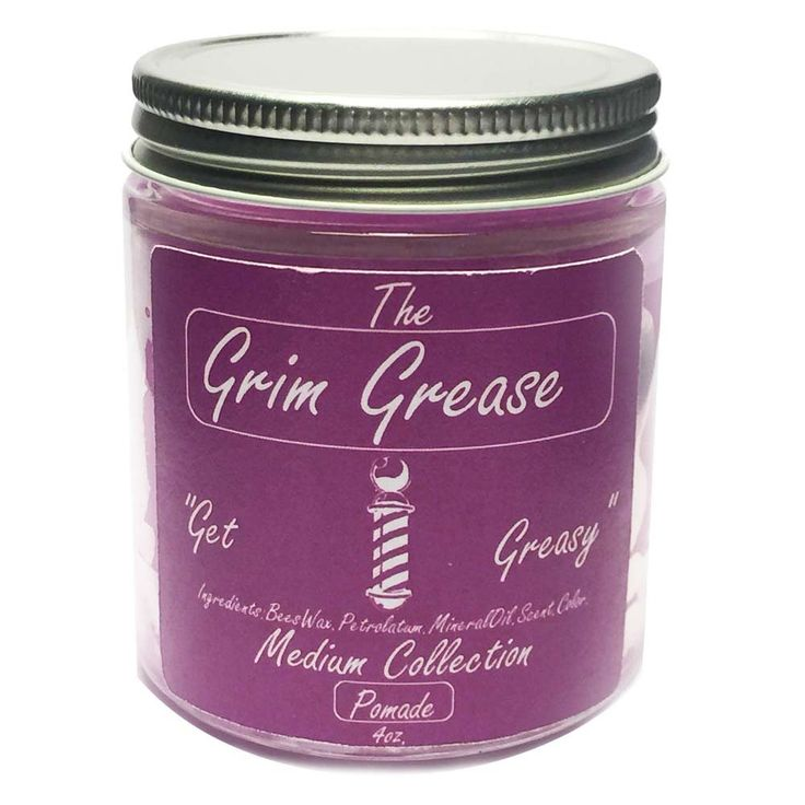 Grim Grease Purple Heavy Hair Pomade 4oz