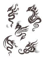 henna dragon tattoos