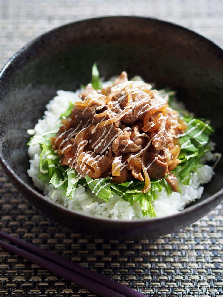 男子が喜ぶ!お安い豚こま肉で作る!豚丼レシピカタログ   レシピサイト「Nadia   ナディア」プロの料理を無料で検索