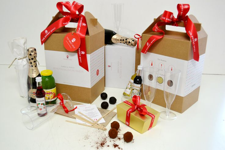 #DIY #cocktail #Kit! Για αυτοσχέδιο #party! #Bubbles and #Truffles!