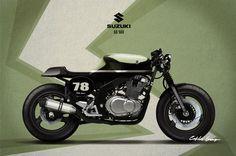gs500. suzuki cafe racer - Buscar con Google