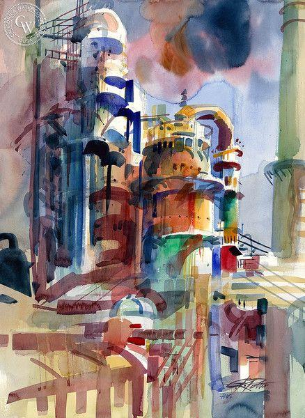 Ken Potter WATERCOLOR #watercolor jd