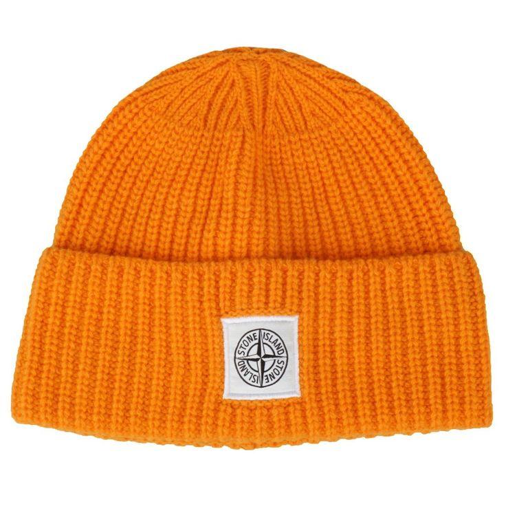 Stone Island KNIT CAP Orange