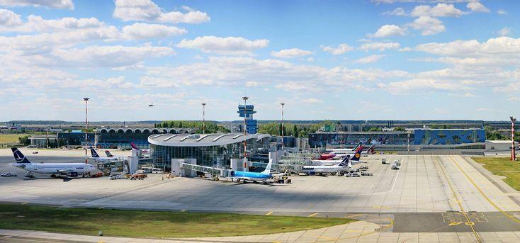 Trafic aerian record pe aeroporturile Bucureștiului în anul 2017