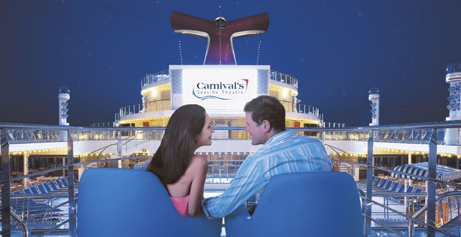 Enjoy the stars! [Seaside Theatre] Featured on: #CarnivalBreeze #CarnivalMagic #CarnivalDream