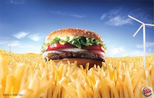 burger king creative brief Burger king organized a stunt to denounce the pink tax that causes many women's products to cost more than their men's counterpart.