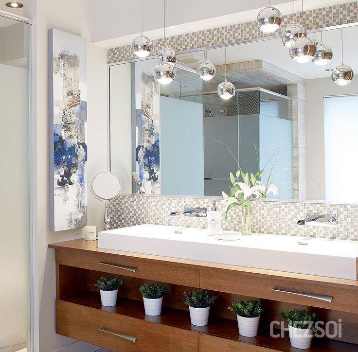Luminaire et dosseret de salle de bain