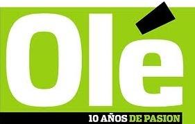 Ole el diario deportivo Nº1 de Argentina    Ver Partidos de Futbol en internet visita: www.verpartidosdefutbol.com.ar