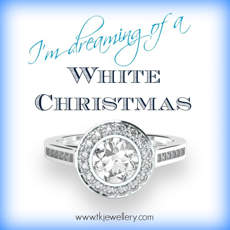 Dreaming of  a white Christmas.......diamonds!! #engagementring #diamonds