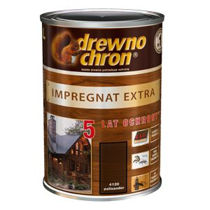 Impregnat przeznaczony jest do ochronnego i dekoracyjnego malowania przedmiotów drewnianych na zewnątrz pomieszczeń (drzwi, okna, meble ogrodowe, boazerie zewnętrzne, altanki, domki letniskowe, płoty, konstrukcje stropów i dachów, itp.). http://drewnochron.pl/produkty/p/282-impregnat-extra---5-lat-ochrony
