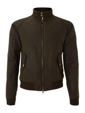 Barbour merchant bomber jacket Olive -