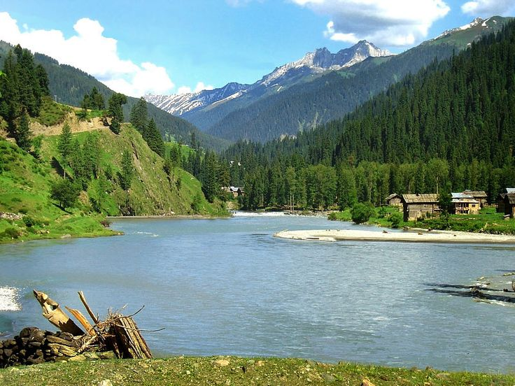 Neelum River, Azad Kashmir
