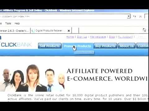 How to Post ClickBank Hoplinks in a Blog- Chapter 4