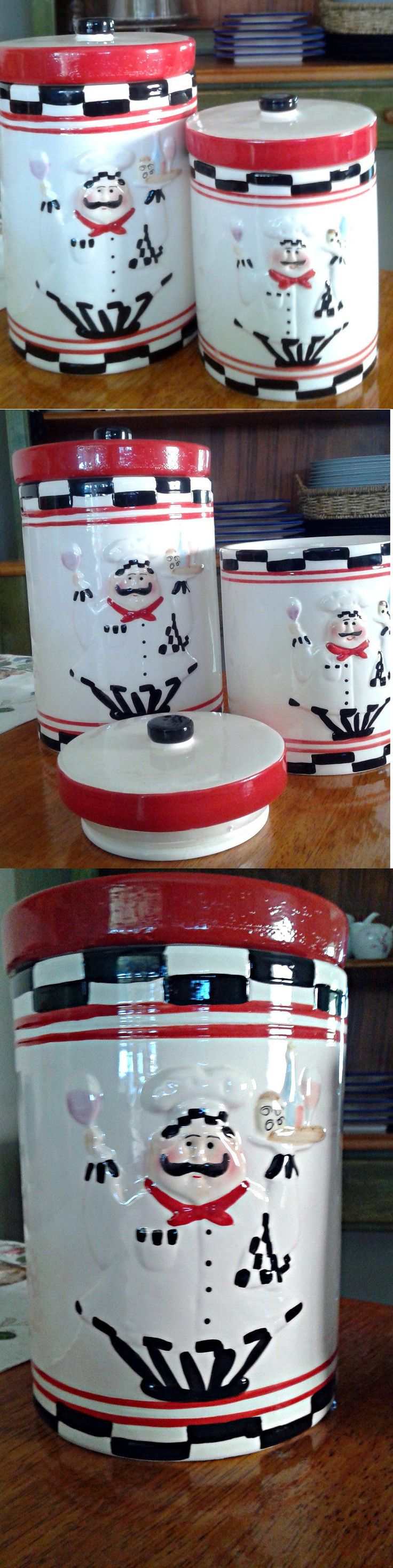 the 25 best kitchen canisters and jars ideas on pinterest canisters and jars 20654 chef canister set of 2 kitchen decoration new buy