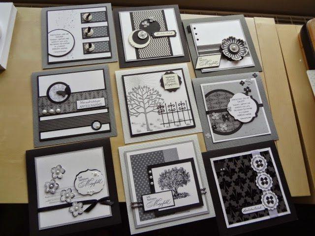 Stempelelemente: Eine große Auswahl an Trauerkarten