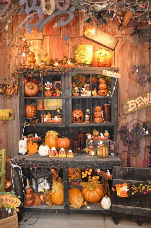 Fall display...