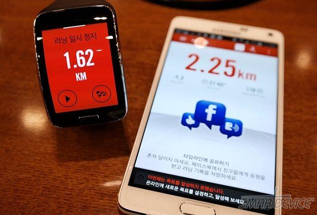 삼성 기어S, NIKE+ Running과 함께 달리다 - 필진 '늑돌이' (@sontle)  http://smartdevice.kr/1403  #스마트디바이스 #SmartDevice #기어S #NIKE