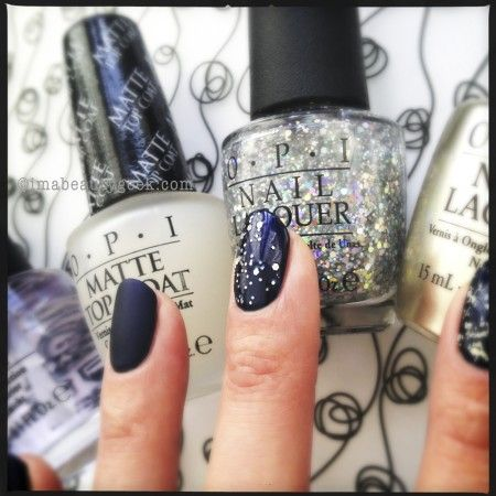 OPI Top Coats_OPI Snowflakes in the Air over OPI Russian Navy