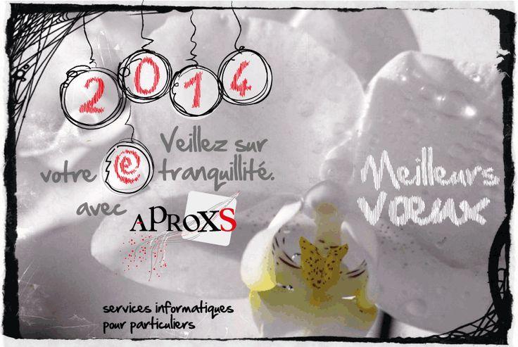 Carte de vœux pour Aproxs