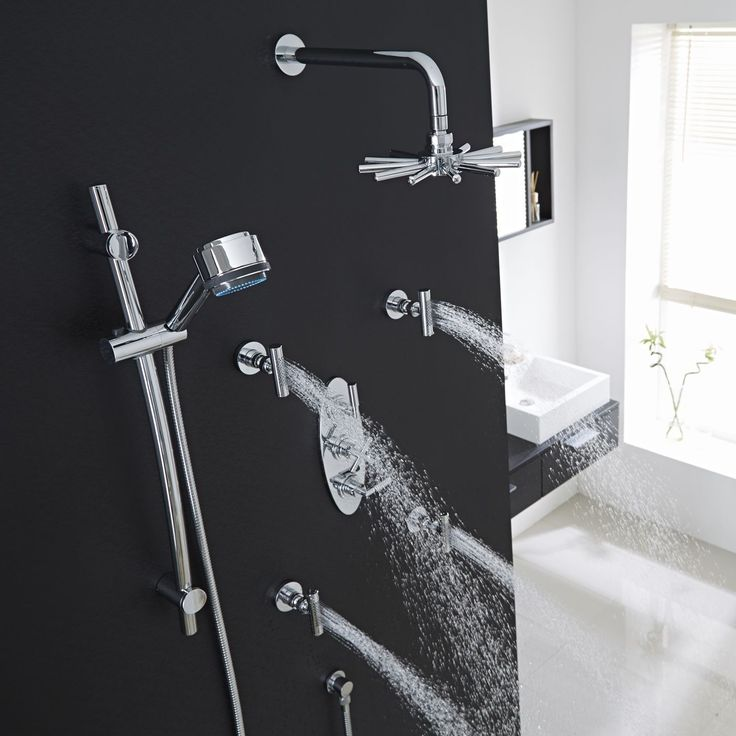 39 best Shower & Spa images on Pinterest | Rain shower heads ...