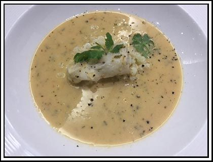Thai Fish Soup - Last night was the Kitchen Kombuis Thermomix awards evening at Serengeti Golf Estate. To celebrate the winner and finalists' achievements, Alice (our MD) cooked up a storm with Chef Klaus and produced this soup which was devoured by all.