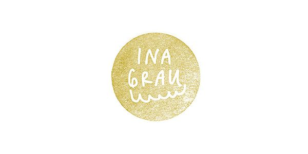 Logotype designed by Anthony Lane for sophisticated handcrafted shoe brand Ina Grau