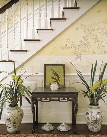 15 best images about markham roberts on pinterest cream for Entry hall wallpaper ideas