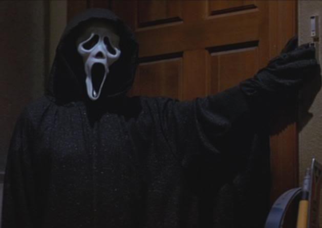 Костюм ghostface крик