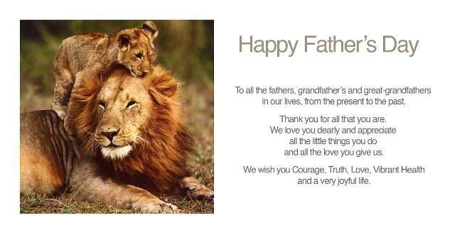 Happy Father's Day Lion Images 2018 Wallpaper Quotes For Dad Brother  #happyfa...