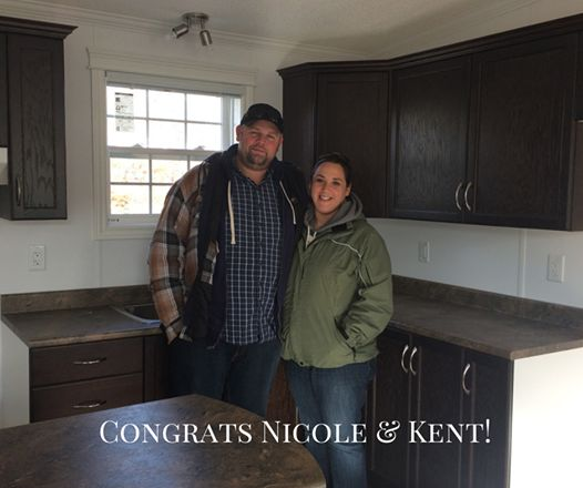 Welcome to the Havill family Nicole and Kent! Enjoy your new place!