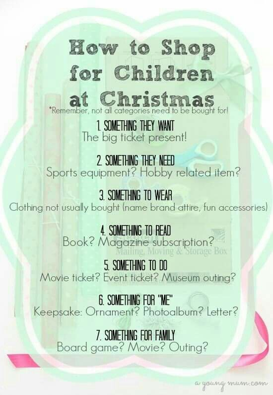 Perfect idea for Christmas shopping for your kids