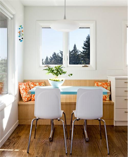 Cozy Dining: 9 Breakfast Nooks, Alcoves, And Niches