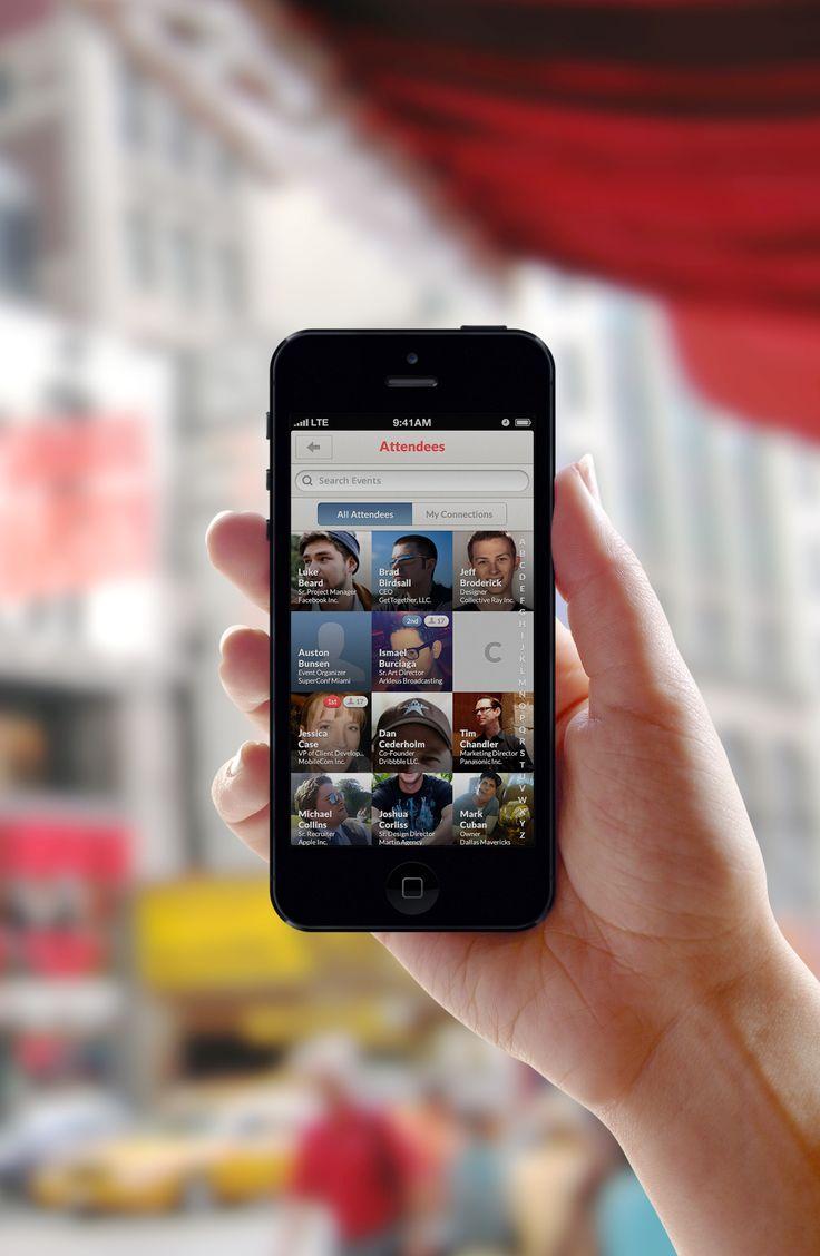 Attendees — iPhone UI / Brian Benitez