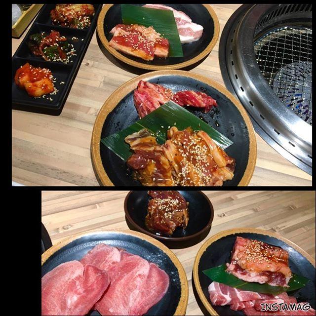 . 10/1(Sun) #焼肉 . 本当に最後の食べ納め。 食べることに夢中で、2枚しか写真を撮っていなかった(°_°) . よく食べた! 食べきった! やりきった! . 謎の達成感。笑 . . 焼肉を食べたら陣痛がくるとのジンクス。らしい。 ドキドキ。 . . #焼き肉#食べ放題#焼肉食べ放題#夕食#夕飯#夕ごはん#夕ご飯#ふたりごはん#晩ごはん#よるごはん#和食#デブ活#飯テロ#肉#食べ納め #japan#japanesefood#dinner#lunch#instafood#food#foodstagram#foodpic#foodporn#instadaily#instagood