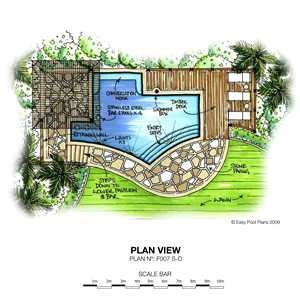 Awesome Swimming Pool Plan Design