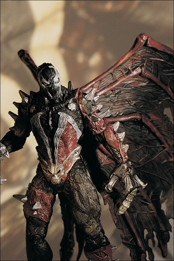 SPAWN THE MOVIE July 97 DELUXE ATTACK SPAWN