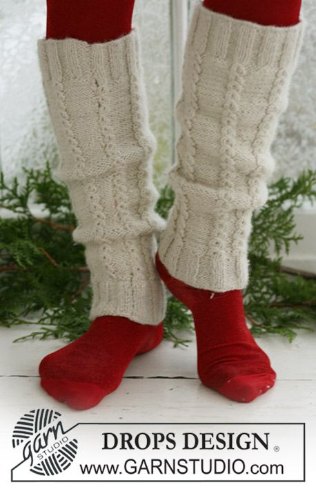 leg warmers.  they convert to crochet terms also