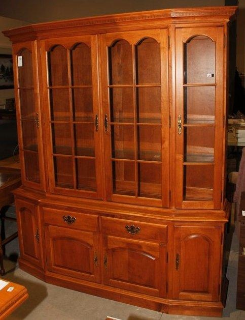 Roxton China Cabinet Found On MaxSold Kingston Warehouse Auction