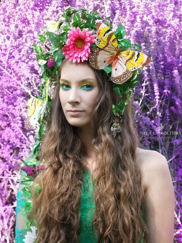 Model: Lea Roganská  Photo by: Nela Isabella la Voltury  MUA and headdress: Nela la Voltury