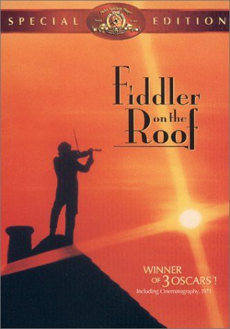 Fiddler on the Roof. 'Sunrise, Sunset' was one of his favorite songs. He mentioned it before he walked me down the aisle to give me away.